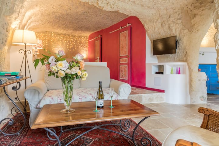 Habitation troglodytique Val de Loire