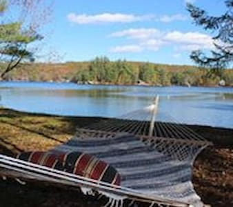 Lakeside Camp in Maine