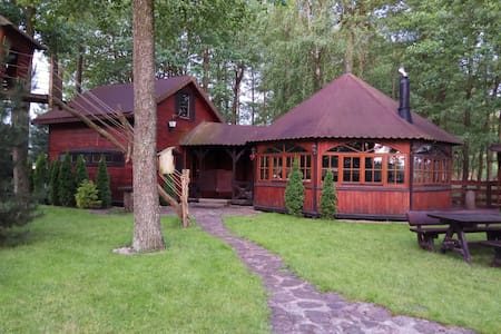 Cottage at the Ros Lake, Lupki, Pisz