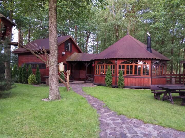 Cottage at the Ros Lake, Lupki, Pisz