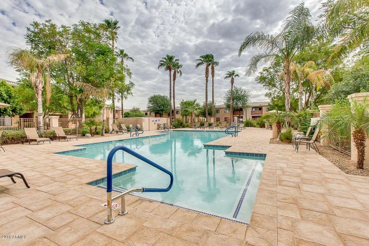 NEWLY Furnished Resort Condo with Heated Pool