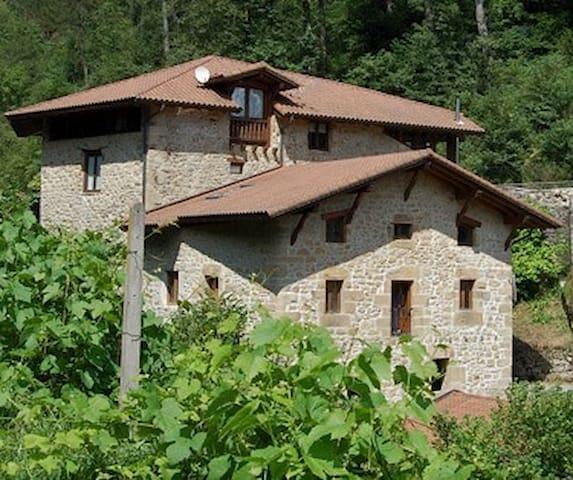 Impresionante molino rehabilitado  a 30´ de Bilbao
