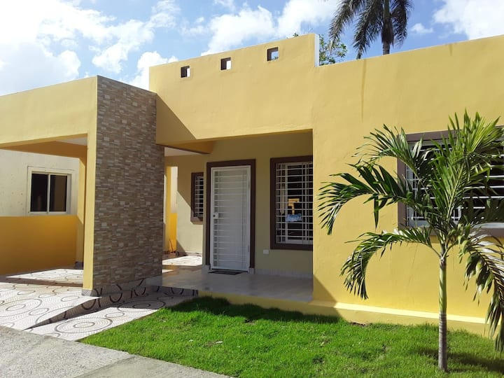 Vacation house near from the beach in Puerto Plata