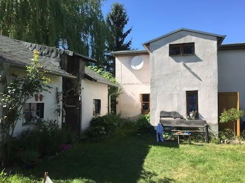 Gemütliches kleines Häuschen in Oderbruch-Idylle