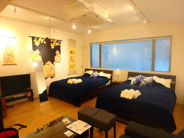 ·Roppongi just walk 5 minutes Cosy room. Wifi