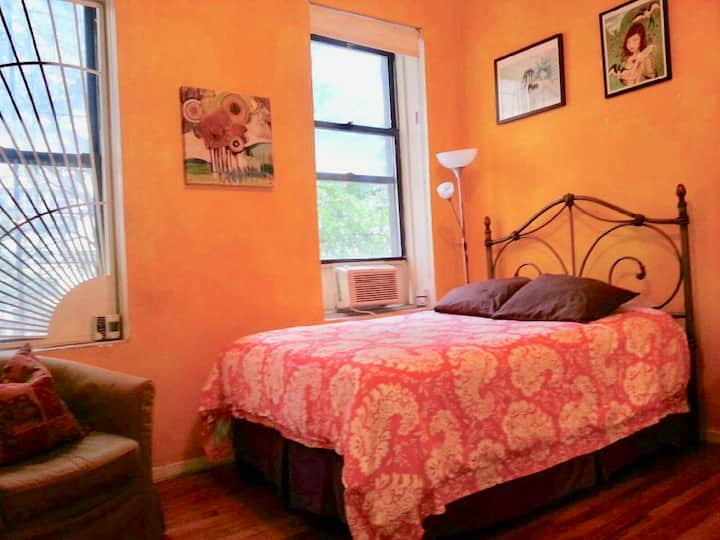 Sunny, Comfy, Spacious & Colorful in East Village