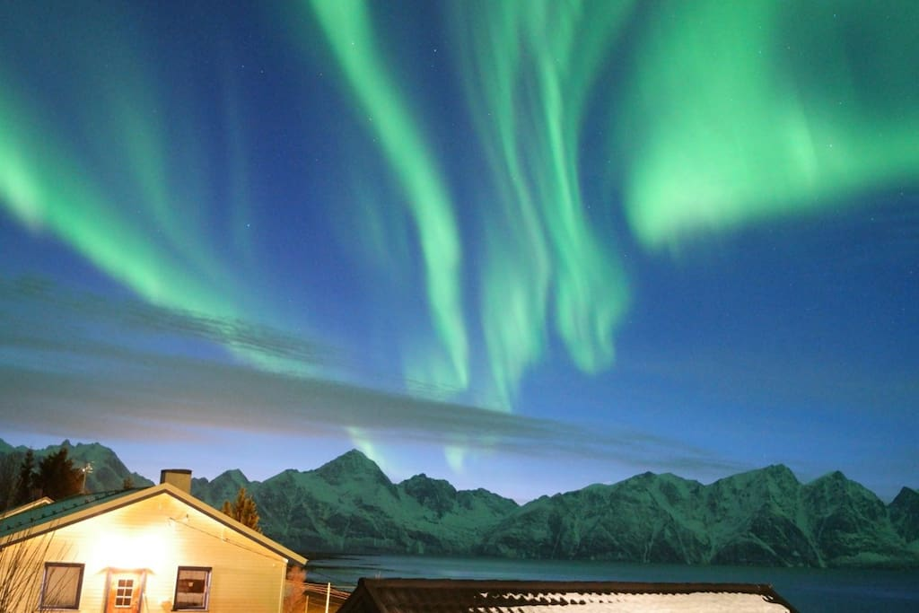 The northern light in february