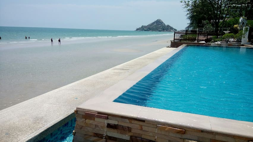 Seaview apartment@Huahin beach. - Hua Hin - Apartamento