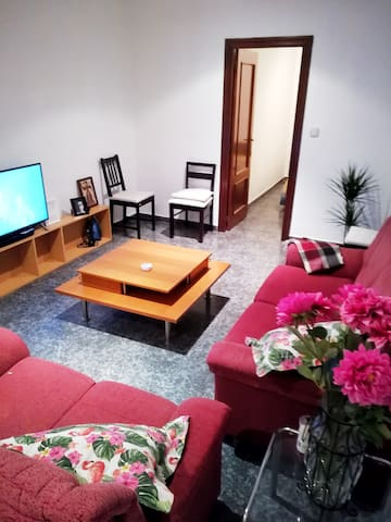 El salon donde podrás ver TV The lounge where you can watch TV