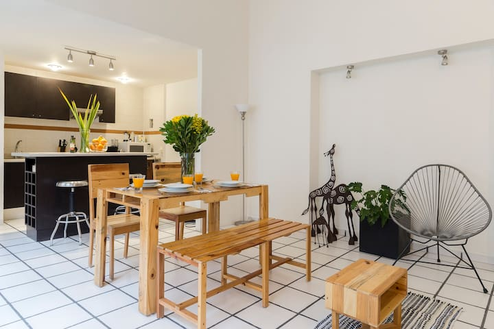 Radiant Apartment with Terrace in Roma Norte (4/4)