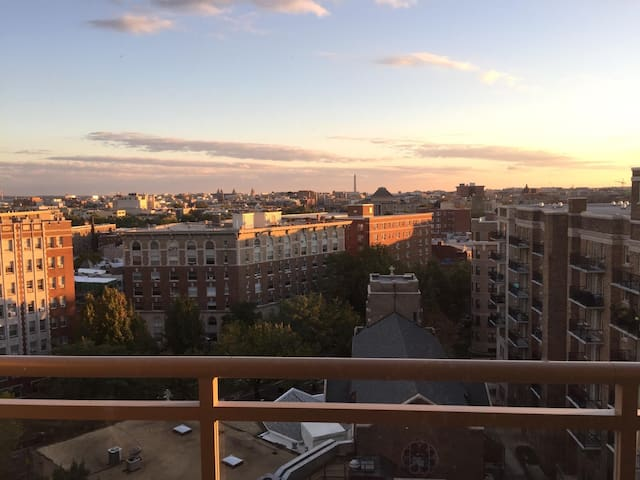 Unparalleled view, private balcony! - Washington - Apartment