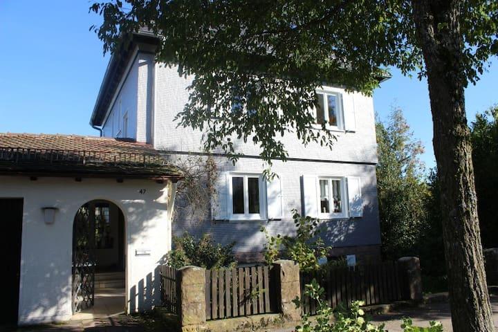 Sehr schöne Wohnung mit Aussicht, großer Garten - Freudenstadt - Daire