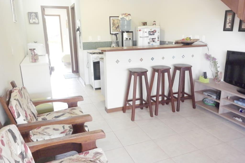 Sala e cozinha Compartilhada 1º Andar