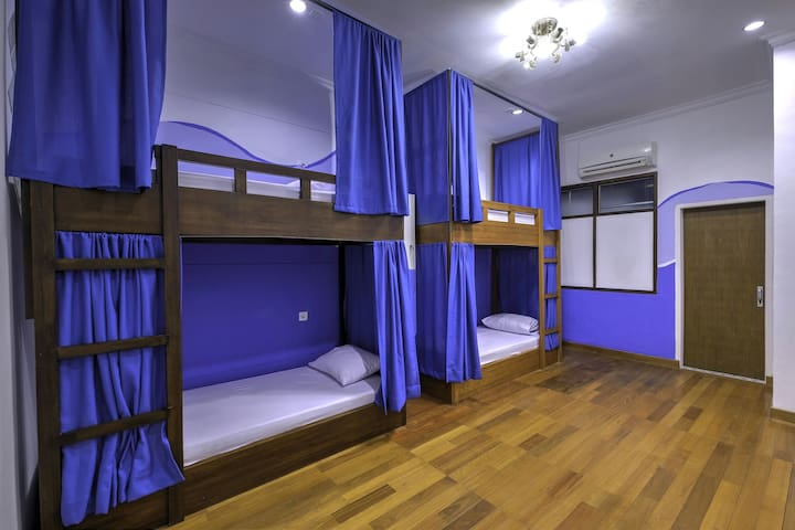 Blue Dormitory  at Riverside Hostel Padang - Padang - Dorm