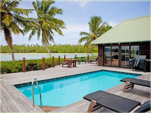 Sokala Villas - Muri Beach (Beachfront with pool)