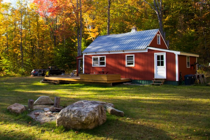 NEW LISTING: The Weston Cabin - Vermont Experience