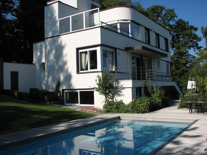Spectaculair Villa In Evian With Lake View