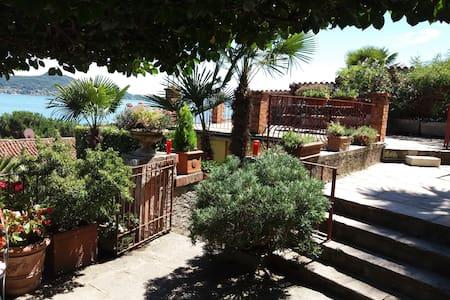 Garden apartment Solcio vista lago con terrazza - Lesa - (ukendt)