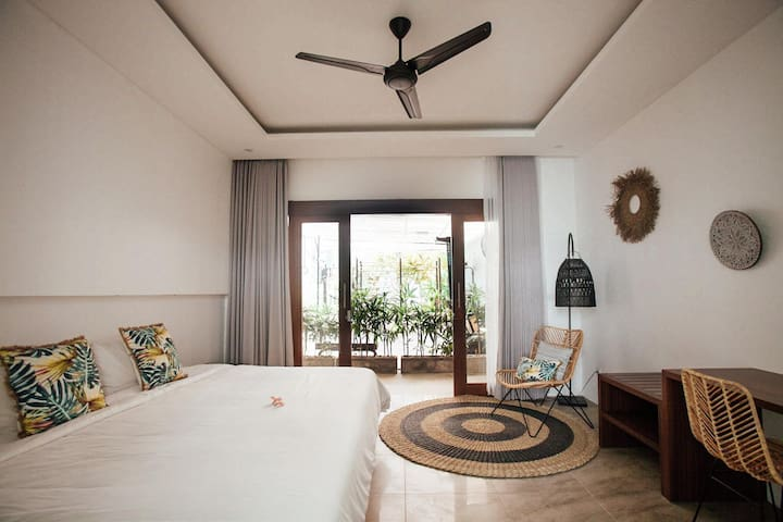 Luxury villa room with *GYM* in Canggu (#1)