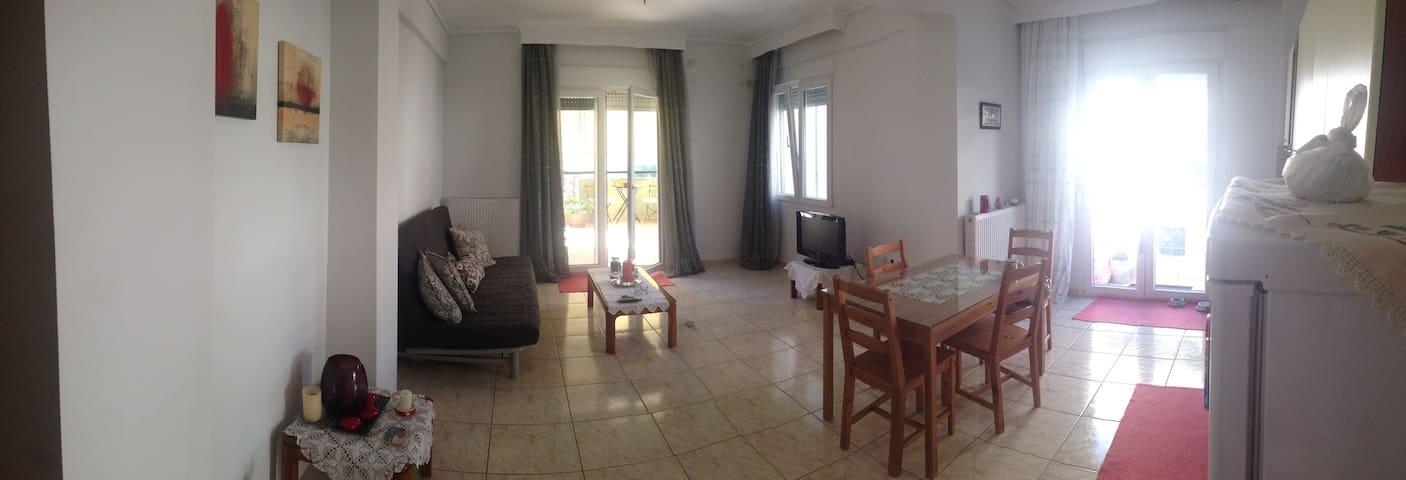 New sunny apartment on east coast of Thessaloniki