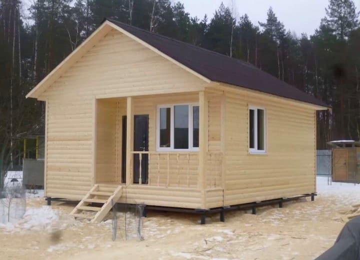 Дом с Баней на дровах