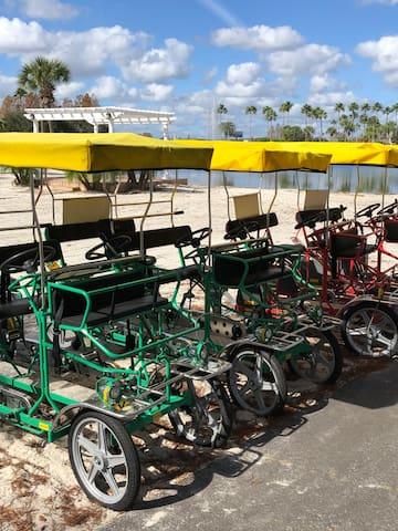 Surrey Bike Rentals