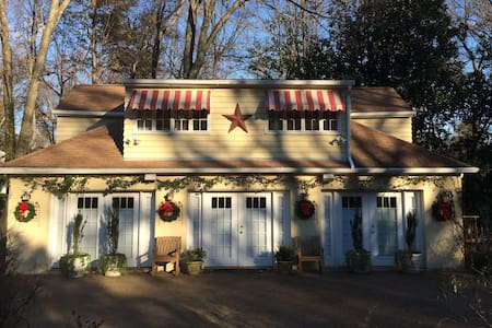 Carriage House 1st floor studio, 20 min to DC - Alexandria - Guesthouse