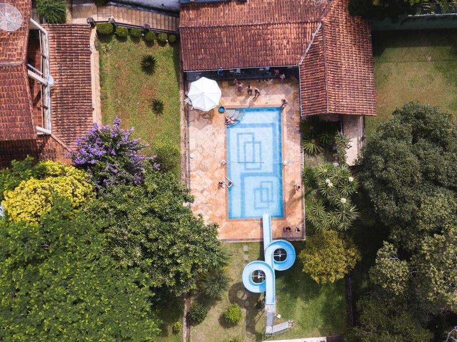 Vista Aérea da piscina.