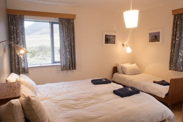 Sudavik guesthouse Puffins room