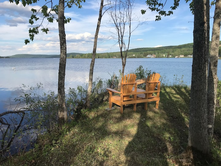 Lakeside Lodge Suite #3 Rental in Sinclair, Maine