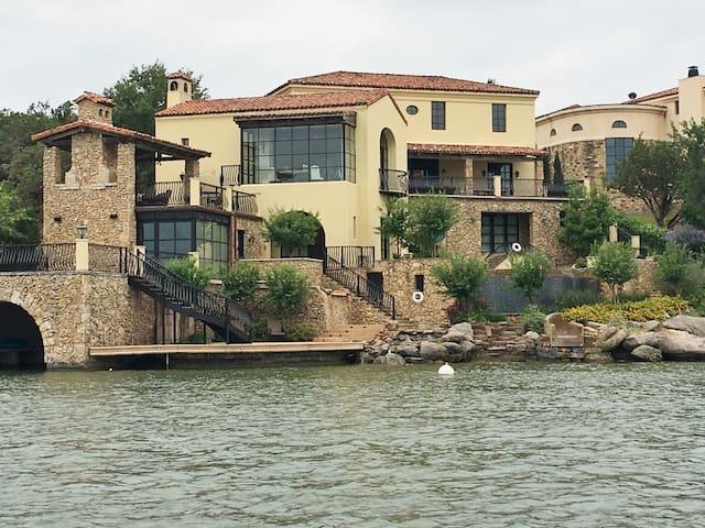 Luxury Lake Lbj Waterfront Estate Home