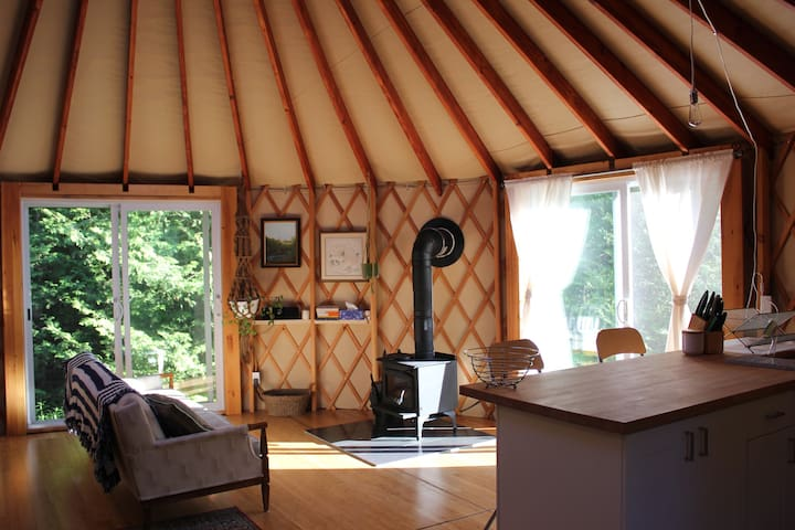 Forest Yurt
