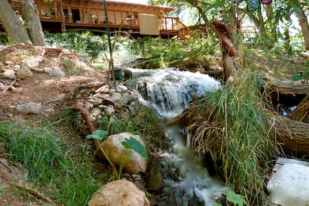 Peace Tree Campsite in Wine Country - Waterfalls! - Cornville - Tent