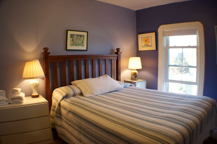 South Room - Queen Bed (Medium Firm) - South Window - Closet