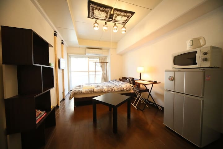 4min walk to JR Ikebukuro sta, full appliance