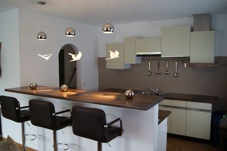 Ruhige Wohnung im Grünen - Apartamento