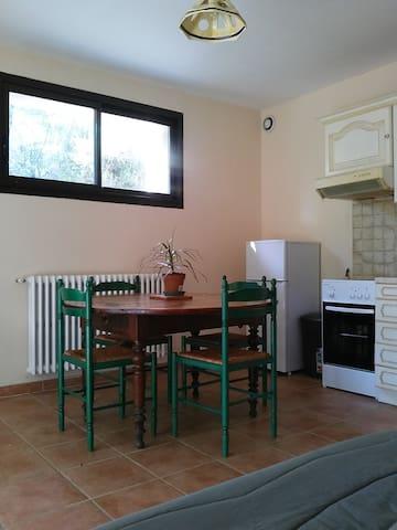 Appartement très calme avec jardin proche d'Alès - Saint-Privat-des-Vieux - Apartment