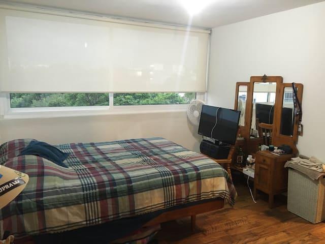 Cuarto con baño en departamento de Roma Norte - Ciudad de México - Apartment
