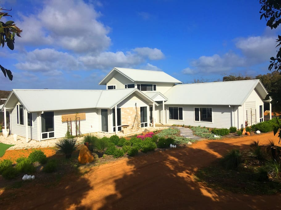 Fully landscaped on 3.5 acres