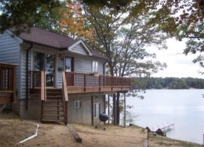 Waterfront House on Spider Lake Traverse City