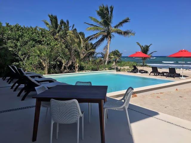 Akumal TAO 1BR w/ Beach Resorts,  Pools, Golf