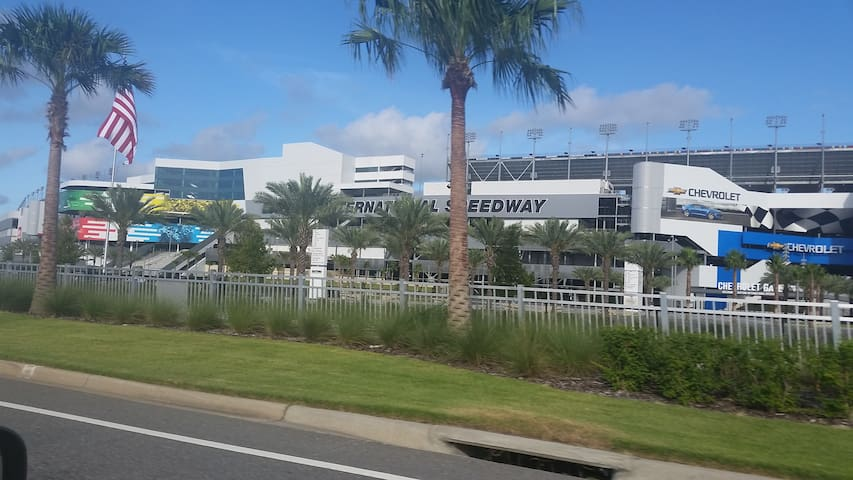 International Speedway Racetrack is only 5.0 Miles Away