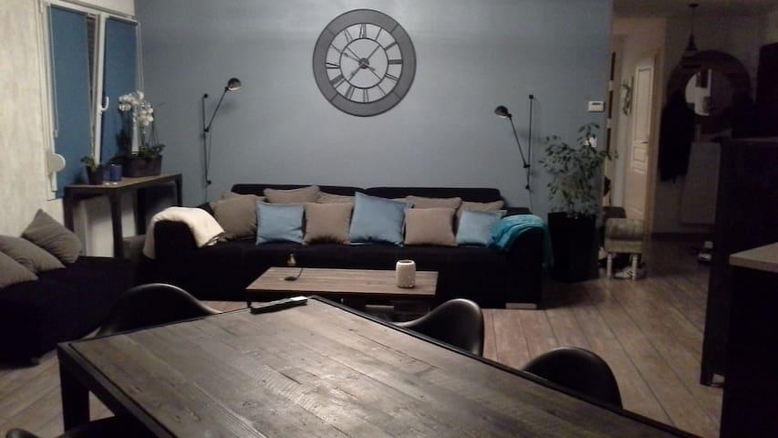 3 pièces au calme avec jardin - Wiwersheim - Apartment