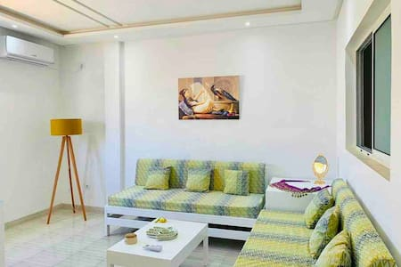 Wonderful & Spacious 2 BR in the Heart of Sousse