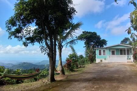 Caribbean Sea View Mountain House!