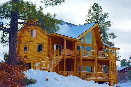 Luxury Cabin,4 Bdrm Suites & Spectacular Mtn Views - Pagosa Springs