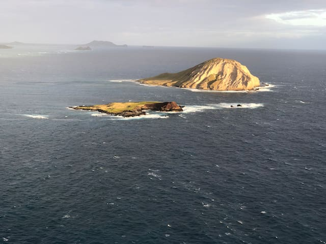 Rabbit Island from the Makapuu Light House Hike