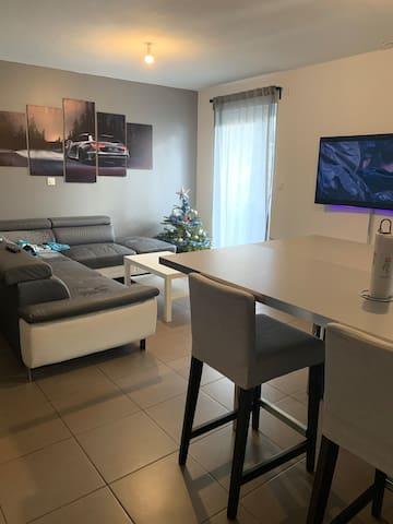 chambre en maison