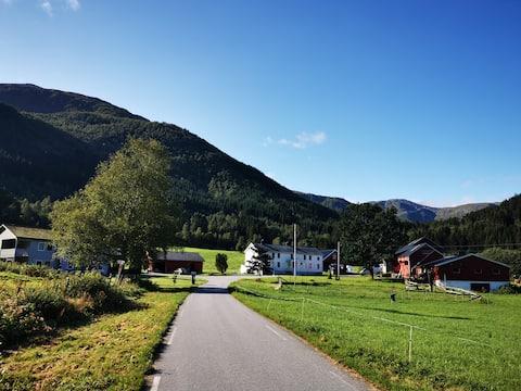 La casa club en Larssetra