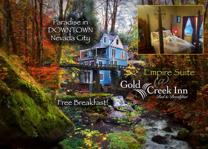 Gold Creek Inn Empire Suite - Nevada City - Szoba reggelivel